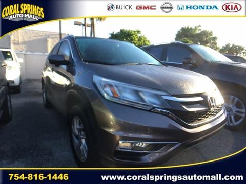 2015 Honda CR-V for sale in Coral Springs FL