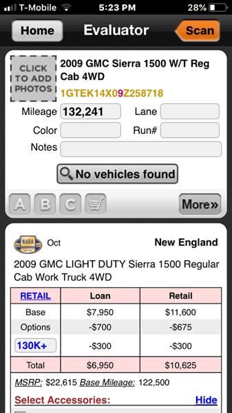 2009 gmc sierra maintenance schedule