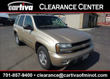 2004 Chevrolet TrailBlazer for sale in Minot, ND