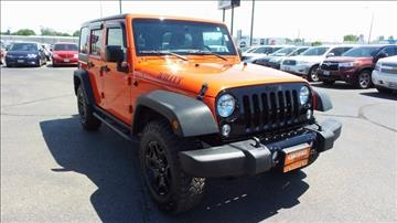 2015 Jeep Wrangler Unlimited for sale in Minot, ND