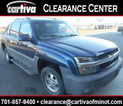 2002 Chevrolet Avalanche for sale in Minot, ND