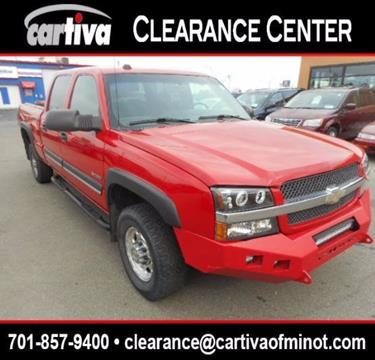 2004 Chevrolet Silverado 2500 for sale in Minot, ND