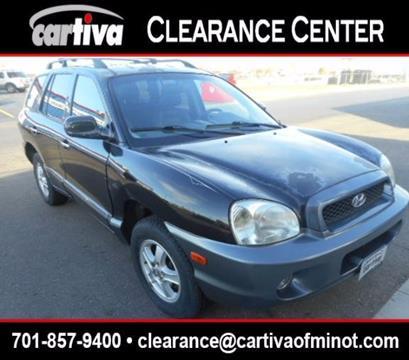 2004 Hyundai Santa Fe for sale in Minot, ND
