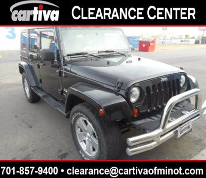 2008 Jeep Wrangler Unlimited for sale in Minot, ND