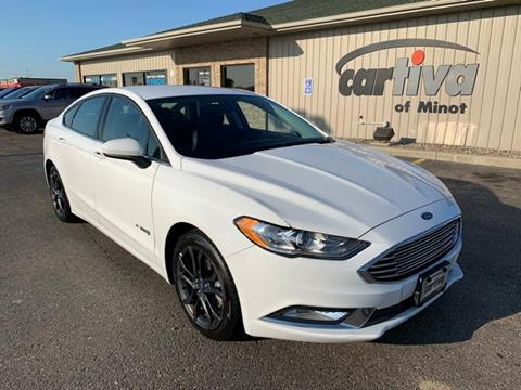Used Ford Fusion Hybrid >> 2018 Ford Fusion Hybrid For Sale In Minot Nd