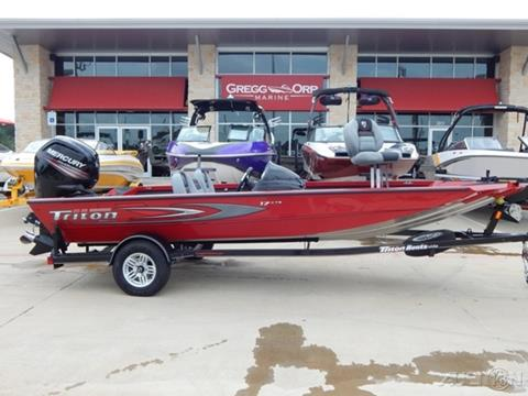2017 Triton 17CTX for sale in Texarkana, TX