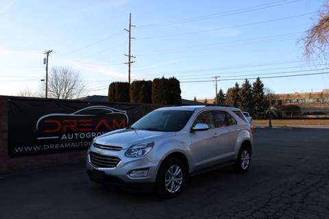 2017 Chevrolet Equinox LT for sale at Dream Auto Group in Shelby Township MI