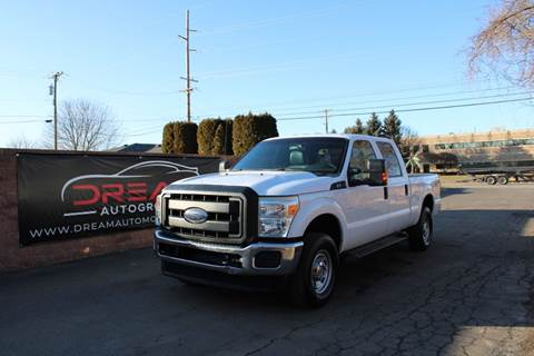 2013 Ford F-250 Super Duty XL for sale at Dream Auto Group in Shelby Township MI