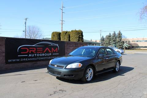 2014 Chevrolet Impala Limited LTZ Fleet for sale at Dream Auto Group in Shelby Township MI