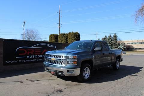 2014 Chevrolet Silverado 1500 LT for sale at Dream Auto Group in Shelby Township MI
