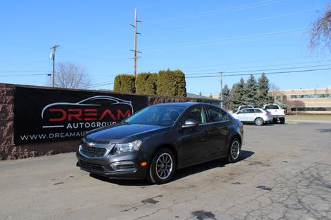 2015 Chevrolet Cruze 1LT Auto for sale at Dream Auto Group in Shelby Township MI