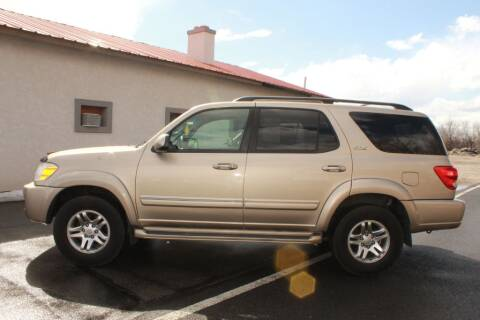 2005 Toyota Sequoia SR5 for sale at Epic Auto in Idaho Falls ID