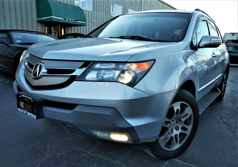 Acura MDX SHAWD WTech In Lemont IL Haus Of Imports - Acura mdx 2007 for sale