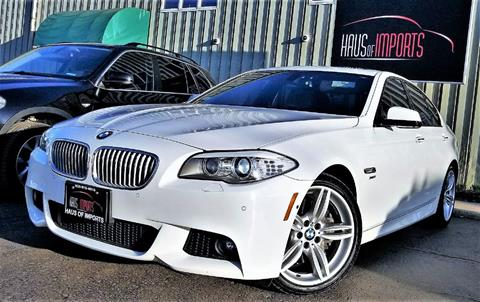 2011 BMW 5 Series for sale at Haus of Imports in Lemont IL