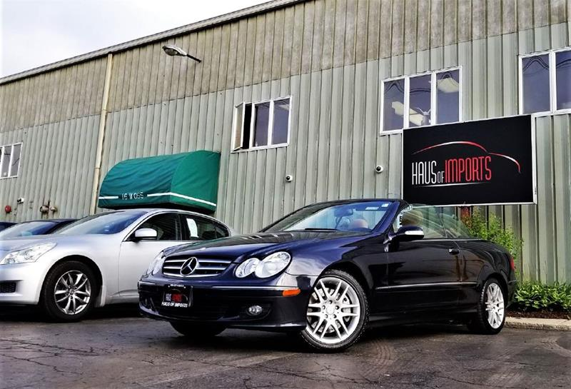 2008 Mercedes Benz CLK For Sale At Haus Of Imports In Lemont IL