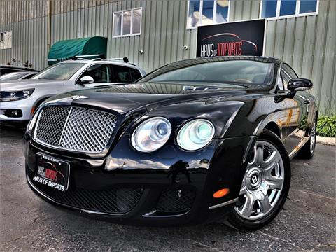 2008 Bentley Continental for sale at Haus of Imports in Lemont IL