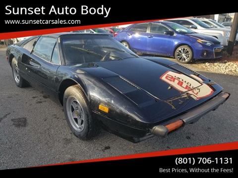 1980 Ferrari 308 GTS for sale at Sunset Auto Body in Sunset UT