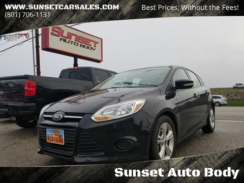 2014 Ford Focus for sale in Sunset, UT