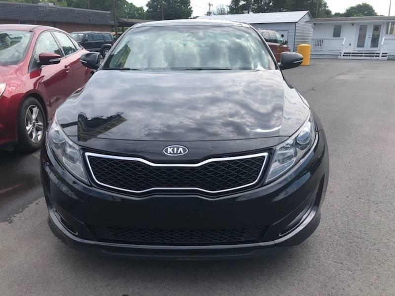 2012 Kia Optima For Sale At LIFT Auto + Sales In Charlotte NC