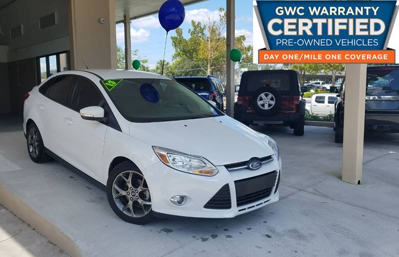 2013 Ford Focus for sale at Dunn-Rite Auto Group in Longwood FL