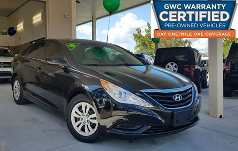 2013 Hyundai Sonata for sale at Dunn-Rite Auto Group in Longwood FL