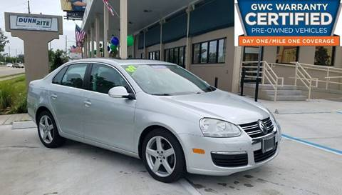 2009 Volkswagen Jetta for sale at Dunn-Rite Auto Group in Longwood FL