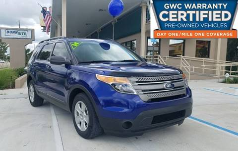 2014 Ford Explorer for sale at Dunn-Rite Auto Group in Longwood FL