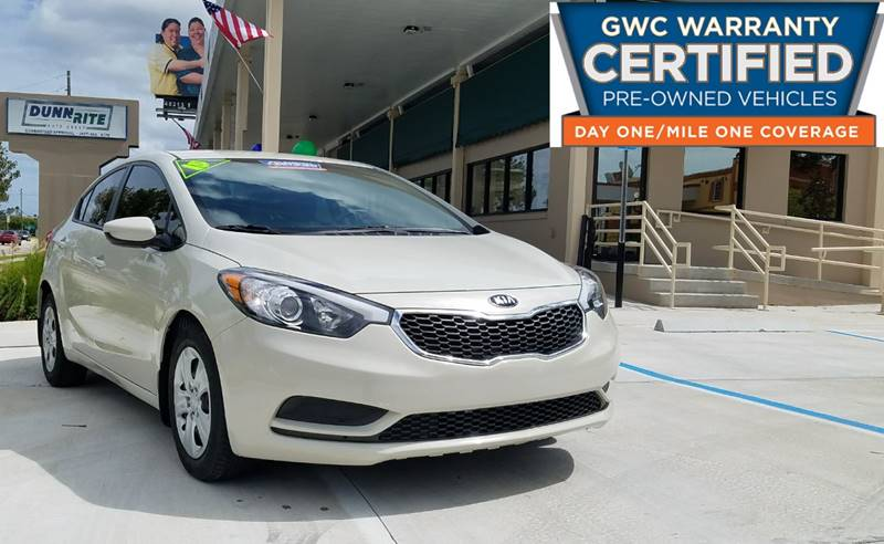 2015 Kia Forte for sale at Dunn-Rite Auto Group in Longwood FL
