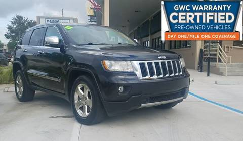 2011 Jeep Grand Cherokee for sale at Dunn-Rite Auto Group in Longwood FL