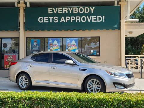 2012 Kia Optima for sale at Dunn-Rite Auto Group in Longwood FL