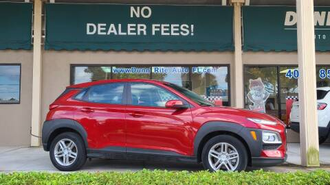 2019 Hyundai Kona for sale at Dunn-Rite Auto Group in Longwood FL