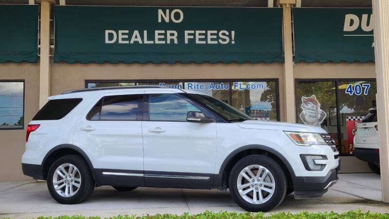 2017 Ford Explorer for sale at Dunn-Rite Auto Group in Longwood FL