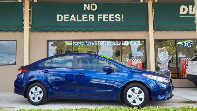 2018 Kia Forte for sale at Dunn-Rite Auto Group in Longwood FL