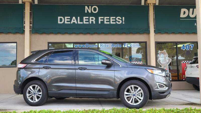 2018 Ford Edge for sale at Dunn-Rite Auto Group in Longwood FL