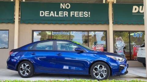 2019 Kia Forte for sale at Dunn-Rite Auto Group in Longwood FL