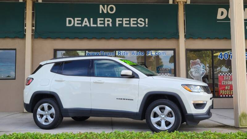 2018 Jeep Compass for sale at Dunn-Rite Auto Group in Longwood FL