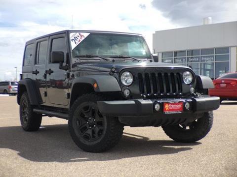 2014 Jeep Wrangler Unlimited for sale in Casper, WY