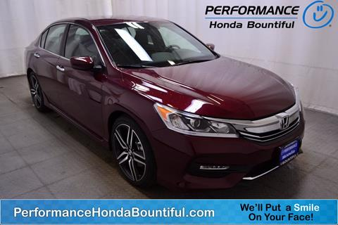 2017 Honda Accord for sale in Bountiful, UT