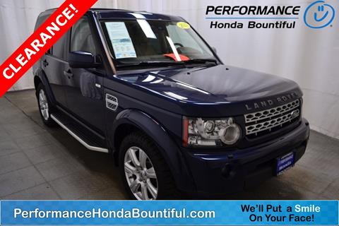 2013 Land Rover LR4 for sale in Bountiful, UT