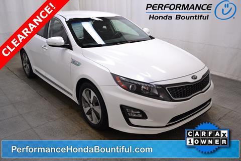 2014 Kia Optima Hybrid for sale in Bountiful, UT
