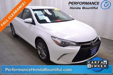 2015 Toyota Camry for sale in Bountiful, UT