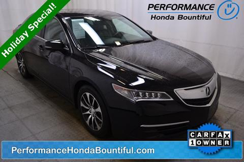 2015 Acura TLX for sale in Bountiful, UT