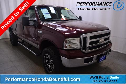 2006 Ford F-350 Super Duty for sale in Bountiful, UT