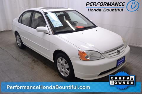 2002 Honda Civic for sale in Bountiful, UT