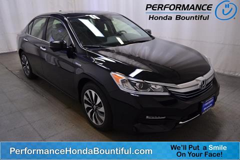 2017 Honda Accord Hybrid for sale in Bountiful, UT