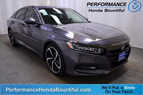 2018 Honda Accord for sale in Bountiful, UT
