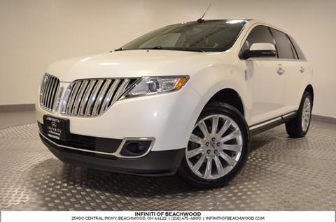 2013 Lincoln MKX for sale in Beachwood, OH