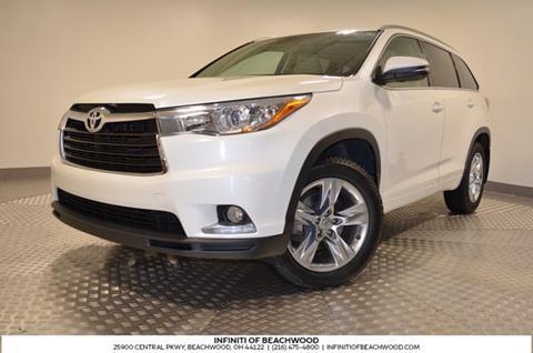 2014 Toyota Highlander for sale in Beachwood, OH