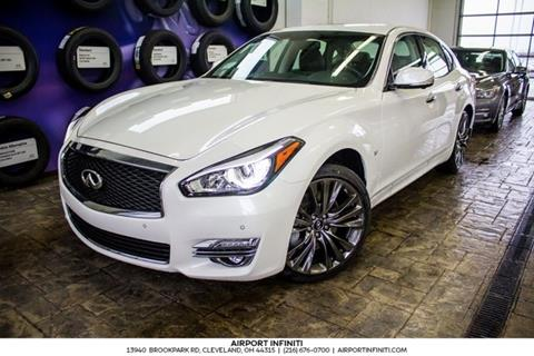 2017 Infiniti Q70 for sale in Cleveland, OH