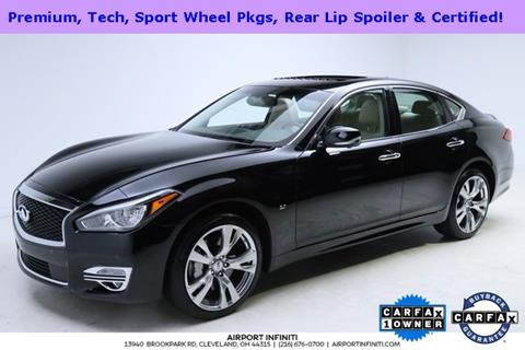 2016 Infiniti Q70 for sale in Cleveland, OH